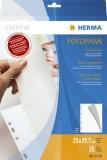 Herma 7578 Fotokarton, 230 x 297 mm, weiß, 25 Blatt HERMA Fotokarton 230 x 297 mm weiß 25 Blatt