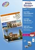 Avery Zweckform® 2498 Premium Colour Laser Papier, DIN A4, beidseitig beschichtet - hochglänzend, 250 g/qm, 100 Blatt