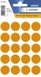 1874 Vielzwecketiketten orange Ø 19 mm rund Papier matt 100 St. Haftetiketten ø 19 mm rund 100 20