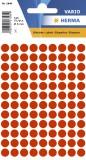1846 Vielzwecketiketten rot Ø 8 mm rund Papier matt 540 St. Haftetiketten ø 8 mm rund leuchtrot