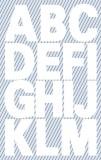 Avery Zweckform® 3786 Buchstaben-Etiketten - A-Z, 25 mm, weiß, selbstklebend, wetterfest, 28 Etiketten