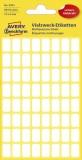 Avery Zweckform® 3041 Mini-Organisations-Etiketten, 13 x 8 mm, 6 Blatt/384 Etiketten, weiß weiß