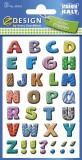 Avery Zweckform® 59334 Home Buchstaben Papier bunt 3 Bögen 96 Etiketten Buchstabenetiketten 96 32