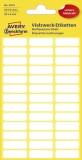 Avery Zweckform® 3073 Mini-Organisations-Etiketten, 20 x 8 mm, 6 Blatt/234 Etiketten, weiß weiß