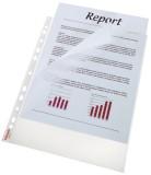 Esselte Prospekthülle Standard Plus, A4, PP, genarbt, oben u. links offen, dokumentenecht, 100 Stück, farblos