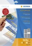 Herma 7695 Postkartenhüllen - transparent, Folie, 10 Stück HERMA Postkartenhüllen 235 x 312
