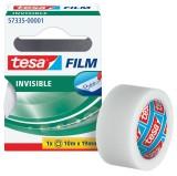tesa® Klebefilm matt-unsichtbar - beschriftbar, Bandgröße (L x B): 10 m x 19 mm Blisterpackung