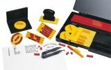 Wedo Stempel Druckerei groß - Komplett-Set, 571 Typen in Schrifthöhe 4 und 5 mm Stempel Kunststoff