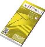 mayer-network Briefumschlag DIN Lang, weiß, m.SF, nassklebend, ohne Fenster, 72 g/qm, 25 St. DL