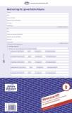 Avery Zweckform® 2874 Mietvertrag - gewerbliche Räume, DIN A4, selbstdurchschreibend, 1 Pack = 5 Stück, blau
