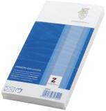 Zanders Briefumschlag Gohrmühle, DL, 110 x 220 mm, weiß, gummiert, 80g, 25 Stück DL weiß 80 g/qm