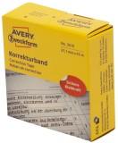 Avery Zweckform® 3515 Korrekturbänder - 21,1 mm x 15 m, weiß Korrekturband weiß 21,1 mm 15 m