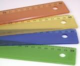 KUM Lineal 30cm Kunststoff  KUM L3 ICE Mindestabnahmemenge 20 Stück. Plastiklineal 30 cm