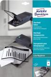 Avery Zweckform® 3567 Overhead-Folien - A4, spezialbeschichtet, Stärke 0,10 mm, 10 Blatt Kopierer