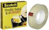 Scotch® Doppelseitiges Klebeband 665 Doppelklebeband 12 mm 22,8 m
