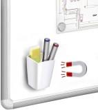 Cep Köcher CepPro magnetisch weiß weiß 78 x 75 H 95 mm