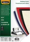 Fellowes® Deckblätter - Lederstruktur, A4, weiß, 100 Stück Deckblätter weiß 100 Stück A4