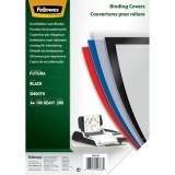 Fellowes® Deckblätter Fantasie - A4, PP, schwarz,100 Stück Deckblätter schwarz 100 Stück A4