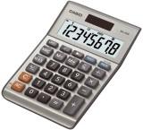 Casio® Solar-Tischrechner MS-80B Tischrechner silber 8-stellig 10,3 x 2,9 x 14,7 cm. Solarbetrieb