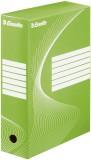 Esselte Archiv-Schachtel - DIN A4, Rückenbreite 10 cm, grün Archivbox grün 100 mm 345 mm 245 mm