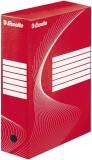 Esselte Archiv-Schachtel - DIN A4, Rückenbreite 10 cm, rot Archivbox rot 100 mm 345 mm 245 mm