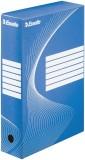 Esselte Archiv-Schachtel - DIN A4, Rückenbreite 8 cm, blau Archivbox blau 80 mm 345 mm 245 mm
