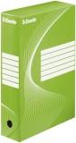 Esselte Archiv-Schachtel - DIN A4, Rückenbreite 8 cm, grün Archivbox grün 80 mm 345 mm 245 mm