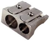 Q-Connect® Doppelspitzer Bleistiftspitzer