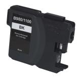 Neutrale Tintenpatrone BR1100BK-INK-FRC für versch. Brother-Geräte (Schwarz)