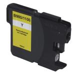 Neutrale Tintenpatrone BR1100Y-INK-FRC für versch. Brother-Geräte (Gelb)