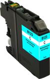Neutrale Tintenpatrone BR123C-INK-FRC für versch. Brother-Geräte (Cyan)