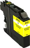 Neutrale Tintenpatrone BR123Y-INK-FRC für versch. Brother-Geräte (Gelb)
