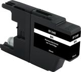 Neutrale Tintenpatrone BR1240BK-INK-FRC für versch. Brother-Geräte (Schwarz)