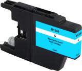 Neutrale Tintenpatrone BR1240C-INK-FRC für versch. Brother-Geräte (Cyan)