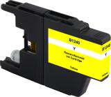 Neutrale Tintenpatrone BR1240Y-INK-FRC für versch. Brother-Geräte (Gelb)