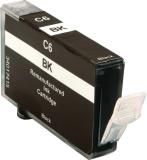 Neutrale Tintenpatrone CABCI6BK-INK-FRC für versch. Canon-Geräte (Schwarz)