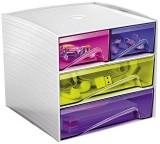 Cep Aufbewahrungsbox - Serice MyCube Happy, 3-211 HM Schubladenbox 6 186 x 185 x 175 mm