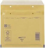 aroFOL® Luftpolstertaschen CD, 180x165 mm, braun, 10 Stück Luftpolstertasche braun CD 180 x 165 mm