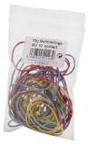 Wihedü Gummiringe - farbig sortiert, 10g Gummiringe sortiert sortiert 10 g