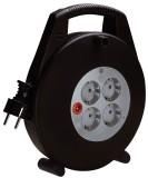 brennenstuhl® Kabelbox 4-fach 10 Meter Steckdosen mit Kinderschutz. Kabeltrommel 10 m