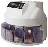 Safescan® 1250 - Münzzähler & Sortierer zählt und sortiert 220 Münzen pro Minute Münzzähler