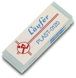 Läufer Radierer Plast für Blei 65x21x12mm Radierer 65 x 21 x 12 mm