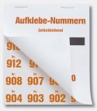 Wolf + Appenzeller Gewinnaufklebenummern 1001-1500 Gewinnaufklebe-Nummer 1001-1500