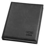 Veloflex® Telefonringbuch Exquisit - A5, schwarz Telefonringbuch schwarz DIN A5 4-Ring-Mechanik
