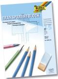 Folia Transparentpapier - 80g, A3 Block, 25 Blatt Transparentpapier A3 80 g/qm 25