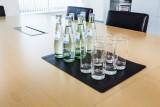 Durable Schreibunterlage mit Dekorrille - Kunststoff, 420 x 300 mm, schwarz Schreibunterlage 420 mm