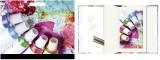 RNK Verlag Hardcovermappe Farbtuben - A3 mit Zeichenblock und Innenfach Zeichenmappe Farbtuben A3