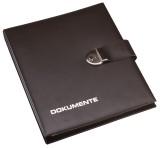 Pagna® Dokumentenmappe schwarz 4-Ring-Mechanik 1H Dokumentenmappe schwarz für A4 295 mm 360 mm