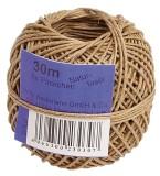 Wihedü Bindfaden/Kordel - extrafein, bis 2 kg, 30 m Bindfaden extrafein 30 m 1,0 mm Naturfaser