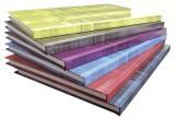 Clairefontaine Notizbuch - A4, 96Blatt, liniert, farbig sortiert Kladde liniert A4 96 90 g/qm